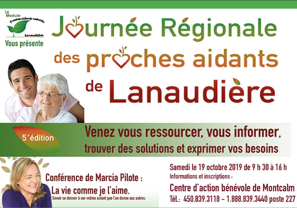 Journée régionale des proches aidants de Lanaudière